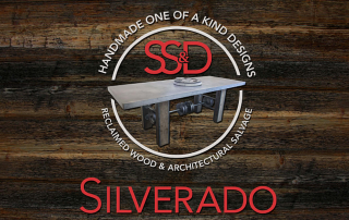 Silverado Logo on Wood