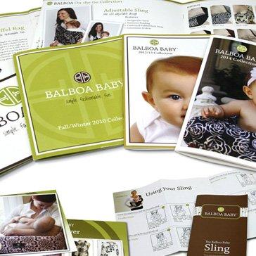 Balboa Baby - Graphic Design - Brochures