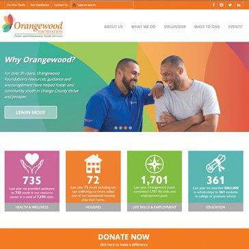 Orangewood Foundation Website by Root Marekrting