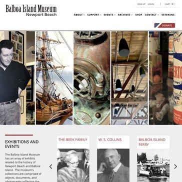 Balboa Island Museum by Root Marketing