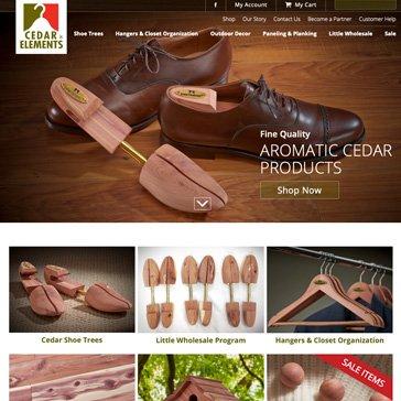 Cedar Elements Website by Root Marketing