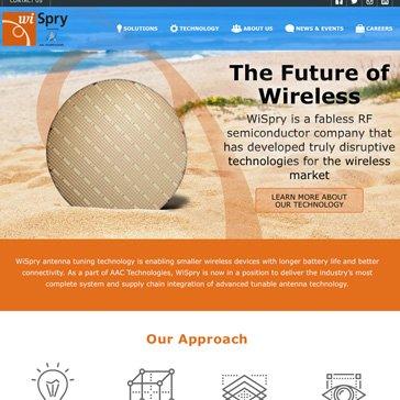 WiSpry Website by Root Marketing