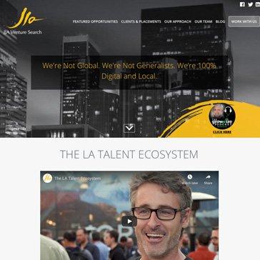 JJA Venture Search Website
